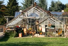 Free Old Greenhouse Royalty Free Stock Photography - 3537647