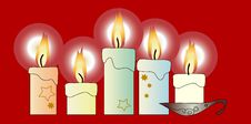 Free Candles Stock Photography - 3537672