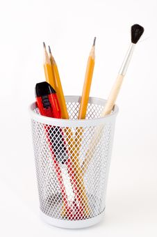 Free Brush Royalty Free Stock Image - 3537836