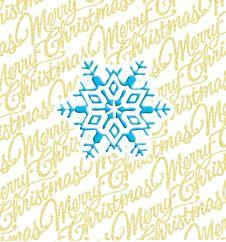 Free Christmas Snowflake Royalty Free Stock Photos - 3538078