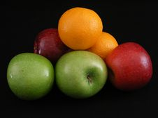 Free Apples And Oranges 2 Stock Photography - 3538112