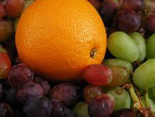 Free Orange And Grapes 2 Royalty Free Stock Photos - 3538168