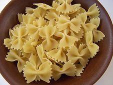 Free Farfalle Pasta Stock Image - 3538301