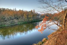 Free River In The Autumn Stock Photos - 3538403