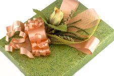 Free Green Gift Box Stock Photo - 3538680