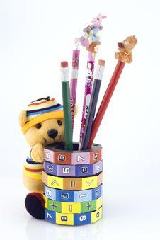 Free Keg With Pencils Stock Photos - 3538953