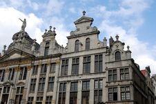 Free Historic Buildings In Brussels Stock Photo - 3538960