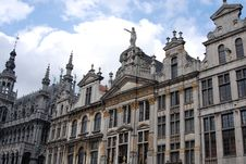 Free Historic Buildings In Brussels Stock Photo - 3538980