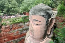 Free Grand Buddha Statue In Leshan Stock Photos - 3539043