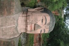 Free Grand Buddha Statue In Leshan Stock Photography - 3539052