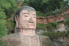 Free Grand Buddha Statue In Leshan Stock Photos - 3539053