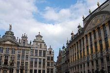 Free Historic Buildings In Brussels Stock Images - 3539114