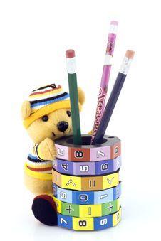 Free Keg With Pencils Stock Photos - 3539173