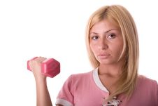 Free Fitness Girl Royalty Free Stock Image - 3539396