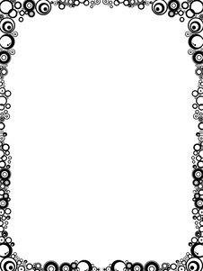 Free Frame. Circle Stock Image - 3539521