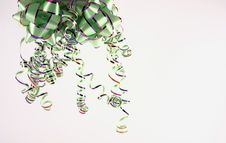 Free Green Bow And Gift Stock Image - 3539601