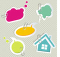 Free Vector Set Of Speech Bubbles Stock Photo - 35305590