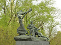 Free Monument Heroes Of The Combatants, Participants Barricade Fighti Royalty Free Stock Photography - 35308277