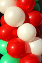 Free Background Of Colorful Inflatable Balls Stock Photography - 35308432