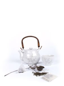 Pot Of Tea With Stock Photos