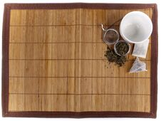Tea Background With Different Kinds Of Tea Royalty Free Stock Photography
