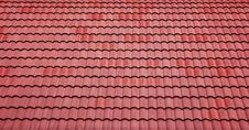 Free Red Tiles Roof Background Stock Photos - 35306593