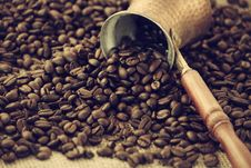 Free Coffee Beans Stock Photography - 35307912