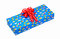 Free Gift With Red Bow Royalty Free Stock Images - 35305439