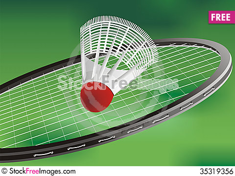 Free A Tennis Racket And New Tennis Ball Royalty Free Stock Image - 35319356