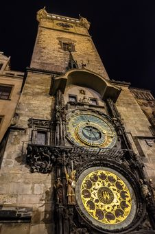 Free Prague Astronomical Clock Stock Images - 35310074