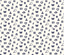Free Seamless Web Icons And Simbols Pattern Royalty Free Stock Image - 35316846