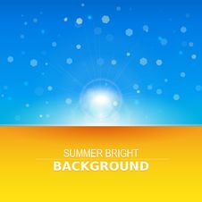 Free Sun Rays Vector, Sunbeams, Vector Background Stock Photo - 35317360