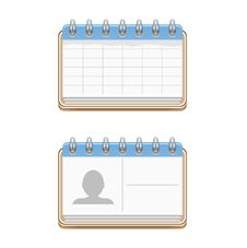 Free Notepad Icons Stock Images - 35318364