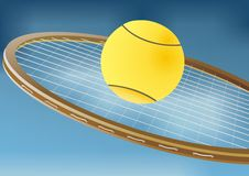Free Tennis Racket And Balls Royalty Free Stock Image - 35319406