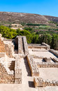 Free Ancient Site Of Knossos In Crete Stock Photography - 35321132