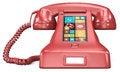 Free Post Retro Telephone. Royalty Free Stock Image - 35328706
