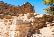 Free Ancient Site Of Knossos In Crete Royalty Free Stock Image - 35321236