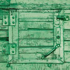 Old Vintage Closed Window Royalty Free Stock Images