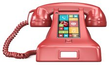 Free Post Retro Telephone. Royalty Free Stock Image - 35328706