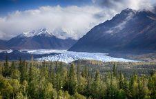 Free Matanuska Glacier Royalty Free Stock Images - 35329059
