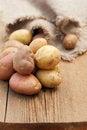 Free Fresh Raw Potatoes Royalty Free Stock Photos - 35334778