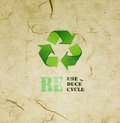Free Mulberry Paper  With Eco Sign Stock Image - 35340891