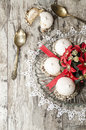Free Christmas Decoration With Ribbons And Cookies Royalty Free Stock Photo - 35345415