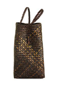 Basketwork Bag Royalty Free Stock Photos
