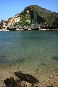 Free Ngrenehan Beautiful Beach Stock Image - 35341871