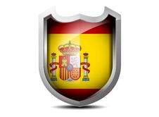 Free Flag Of Spain Royalty Free Stock Photography - 35343197