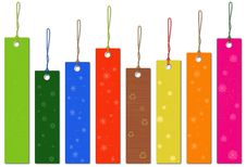 Free Multicolor Tags Royalty Free Stock Images - 35343559