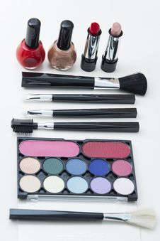 Free Cosmetics Stock Photography - 35345692