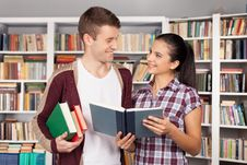 Free Studying Together Is Fun. Royalty Free Stock Photo - 35346975