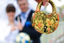 Free Padlock Wedding Royalty Free Stock Photos - 35347188